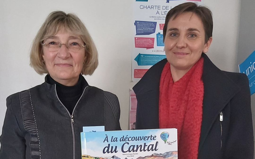 «À la découverte du Cantal» présenté à l'Éducation nationale
