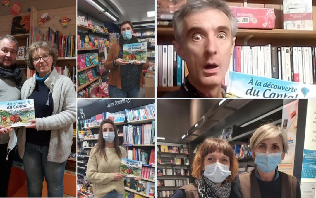 «À la découverte du Cantal» : distribution aux libraires cantaliens